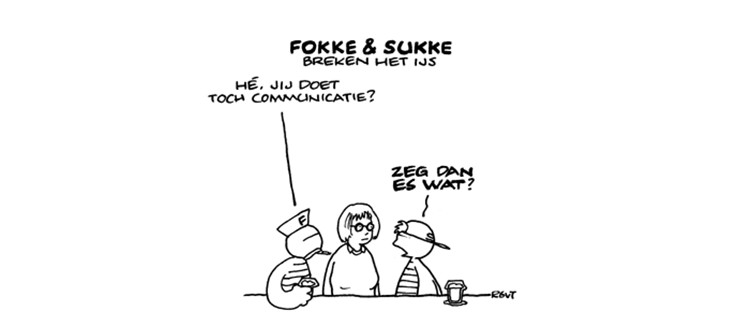 De week van een trainee Corporate Communicatie