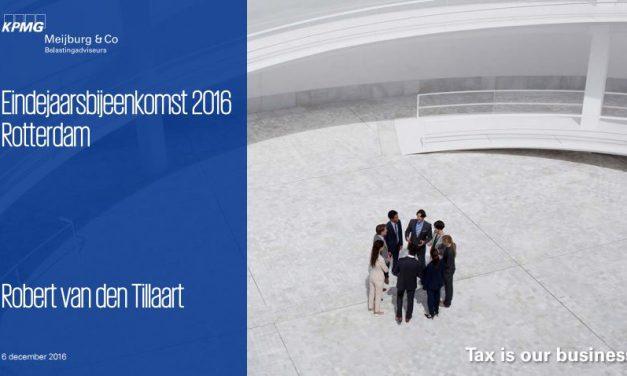 Fiscale eindejaarsbijeenkomst in het mooiste stadion van Nederland